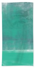 Beach Glass- Abstract Art Beach Towel
