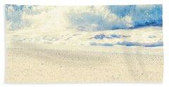 Beach Towel featuring the photograph Beach Gold by Sharon Mau