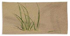Beach Grass Beach Towel