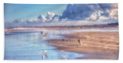 Beach Gulls Beach Towel