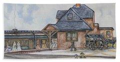 Beach Haven Railroad Station Beach Sheet