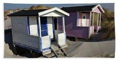 Beach Houses At Skanor Beach Towel