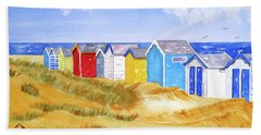 Beach Huts Beach Sheet