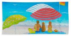 Beach Painting - Endless Summer Days Beach Sheet