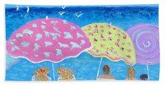 Beach Painting - Lazy Summer Days Beach Sheet