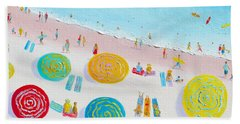 Beach Painting - The Simple Life Beach Towel by Jan Matson