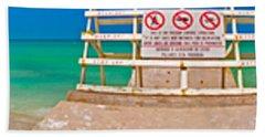 Beach Panorama Beach Sheet