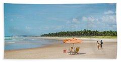 Beach Paradise Beach Towel by Lana Enderle