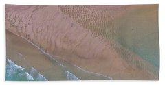 Beach Patterns At North Point On Moreton Island Beach Towel