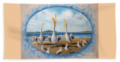 Flying Lamb Productions            Pelicans   Beach Platoon Beach Sheet