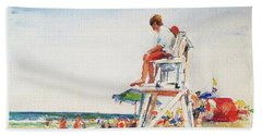 Beach Scene, Cape Cod Beach Towel