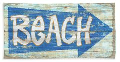 Beach Sign Beach Towel