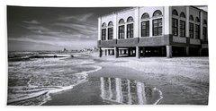 Beach View Of Oc Music Pier Beach Towel