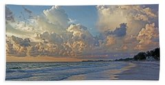 Beach Towel featuring the photograph Beach Walk by HH Photography of Florida