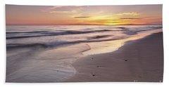 Beach Welcoming Twilight Beach Towel