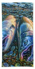 Beached Coho Beach Towel