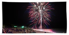 Beach Towel featuring the photograph Beachside Spectacular by Bill Pevlor