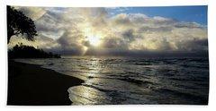 Beachy Morning Beach Towel