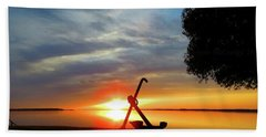 Beadles Point Sunset Beach Towel