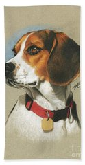 Beagle Beach Towels