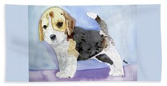 Beagle Pup Beach Sheet