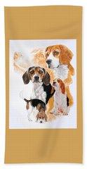 Beagle Hound Medley Beach Sheet