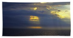 Beam Me Up Beach Towel by Patti Whitten