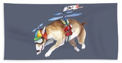 Beanie Bully  Beach Towel