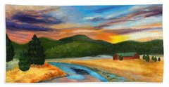 Bear Creek Colorado Beach Towel