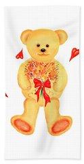 Bear In Love Beach Sheet