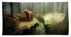 Bear Mountain Fantasy Beach Towel