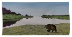 Bear Reflecting Beach Sheet