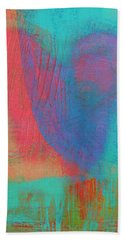 Beating Heart Beach Towel by Susan Stone