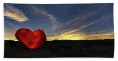 Beating Heart Beach Towel