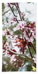 Beautiful Almond Blossoms Beach Sheet
