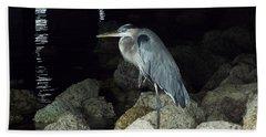 Beautiful And Patience Heron Beach Sheet