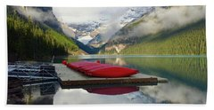 Beach Towel featuring the photograph Beautiful Banff by Jacqueline Faust