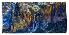 Beautiful Bridalveil Falls Beach Towel