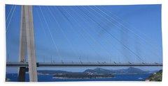 Beautiful Bridge In Dubrovnick Beach Towel