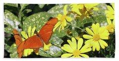 Beautiful Butterflies Beach Towel