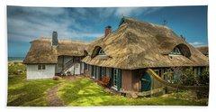 Beautiful Cottage Beach Sheet by Eva Lechner