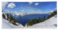 Beautiful Crater Lake Beach Towel