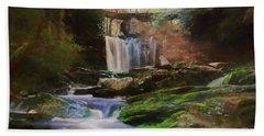 Beautiful Elakala Falls Beach Towel