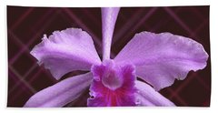 Beautiful Floating Orchid Beach Towel