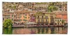 Beautiful Italy Beach Towel by Roy McPeak