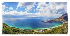 Beautiful Landscape Panorama Beach Towel