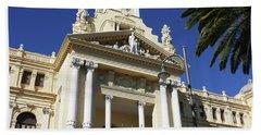 Beautiful Malaga City Hall Beach Towel