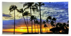 Beautiful Maui Hawaii Sunset Beach Sheet