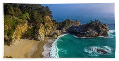 Beautiful Mcway Falls Cove Beach Towel