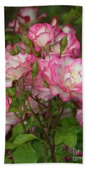 Beautiful Nicole Roses Lighter Beach Sheet